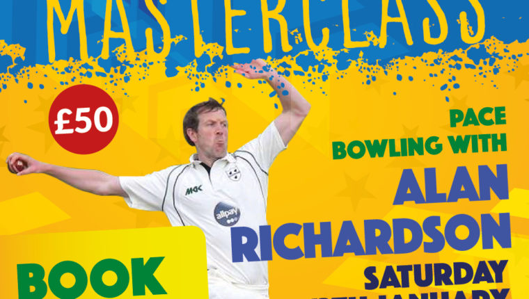 Alan Richardson Pace Bowling Masterclass
