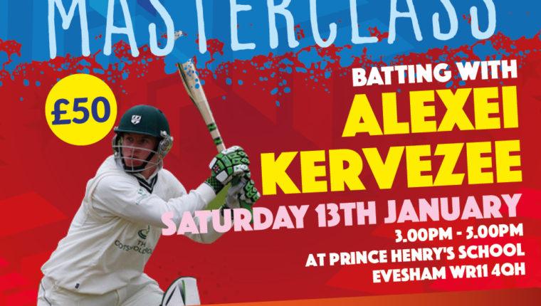 Alexei Kervezee Batting Masterclass
