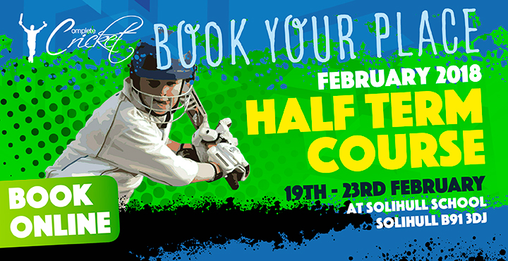 Complete Cricket February Half Term Course King Henry VIII 2018